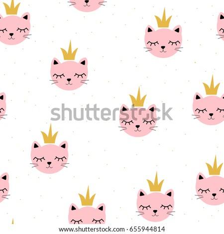 cute little cat princess