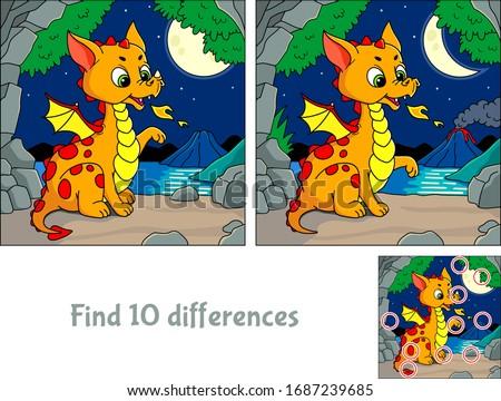 cute little dragon find 10