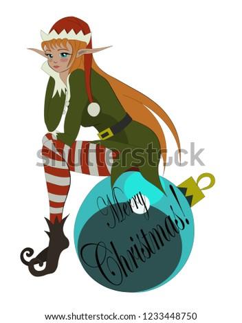cute little elf anime girl