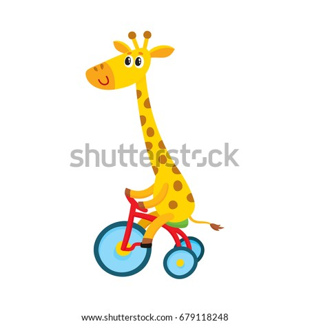 cute little giraffe character