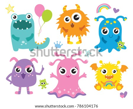 Stencil Monsters Rock And Clip Art Baby Monster Clipart Stunning Free Transparent Png Clipart Images Free Download
