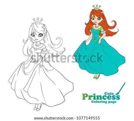 cute little princess  hand