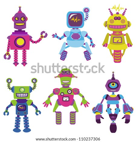 Cute Robot Designs Cute Little Robots Collection