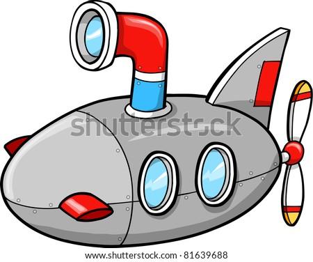 Cute Submarine Clipart Cute Little Submarine Ship