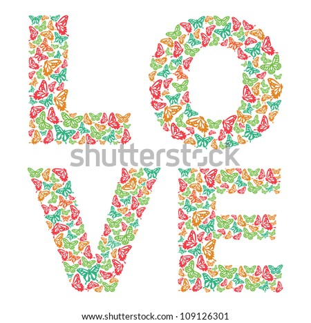 Cute Love Designs Cute Love Card Design Vector
