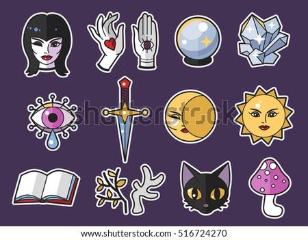 cute magic accessories design