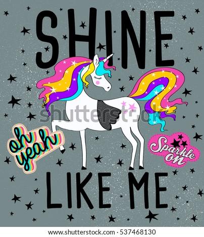 cute magical unicorns sweet