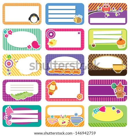 cute memo collection