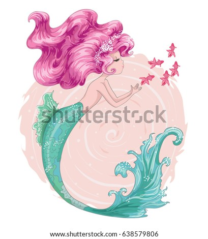 cute mermaid little mermaid