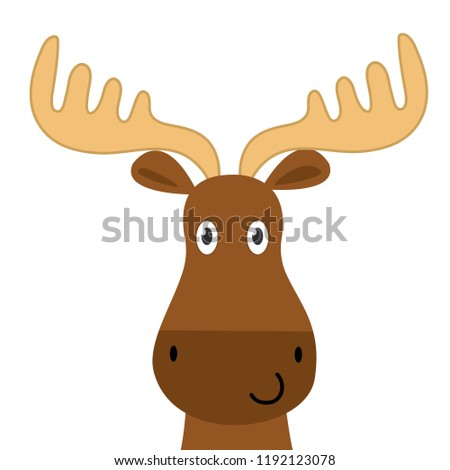 Cute Moose Clipart - Png Download (#2765541) - PinClipart