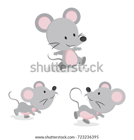 cute mouse in different pose....