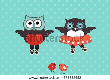 cute owl ballet