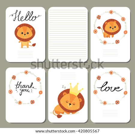 cute pages for notes with...