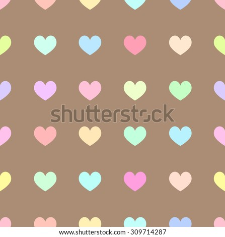 cute pastel rainbow or colorful