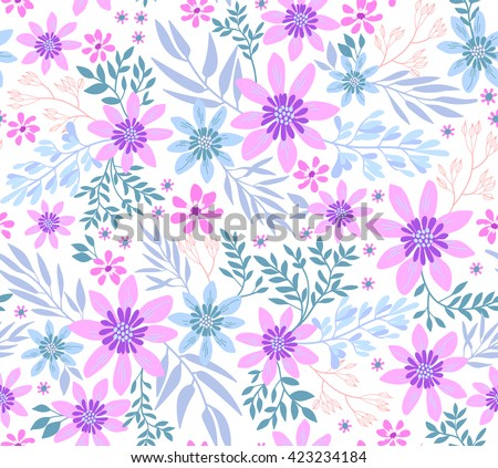 free spring floral pattern download free vector art stock