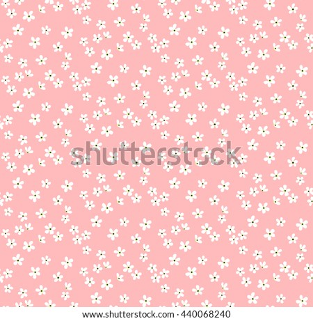 Pastel floral pattern download free vector art stock graphics cute pattern in small flower small white flowers pastel pink background ditsy floral mightylinksfo