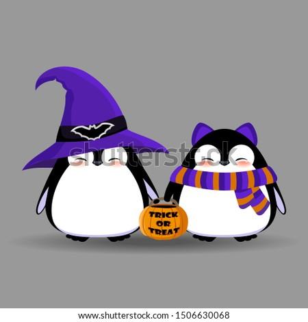 cute penguin characters