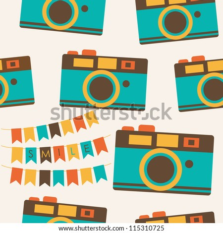 Cute Photography Logo Cute Photography Pattern