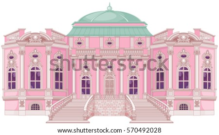 cute romantic palace for a