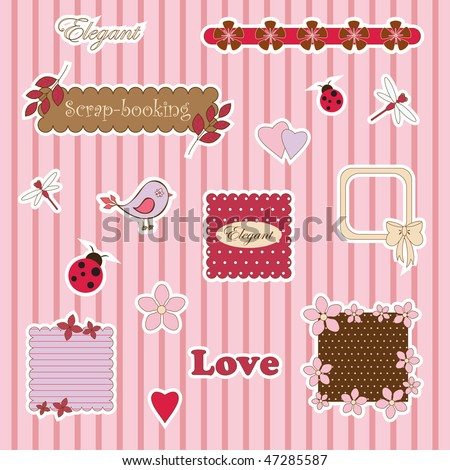 Cute scrap-booking
