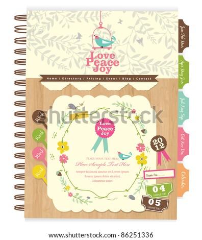 cute scrapbook elements  10