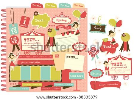 Cute scrapbook elements (11)