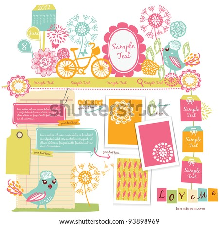 Cute scrapbook elements (15)