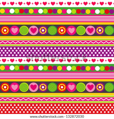 Hearts And Flowers Backgrounds Hearts Swirls Flowers