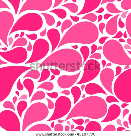 cute seamless drop background for your design - stock vector