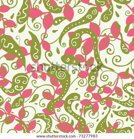 cute seamless pattern - stock vector