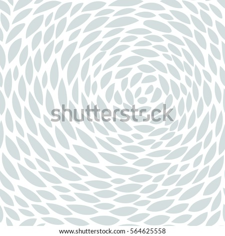 Cute seamless pattern. Abstract wallpaper. Simple floral background. vector illustration with leaves. Monochrome texture. Minimalistic style.
