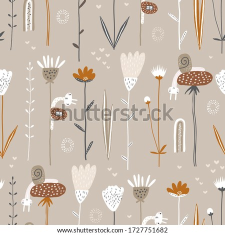 cute seamless pattern with