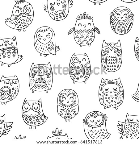 Image Result For Owl Coloring Book
