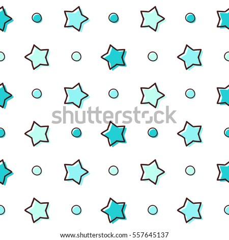 cute seamless vector pattern