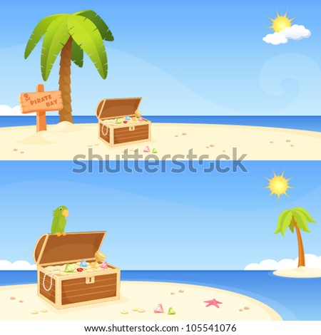 cute seaside banners for