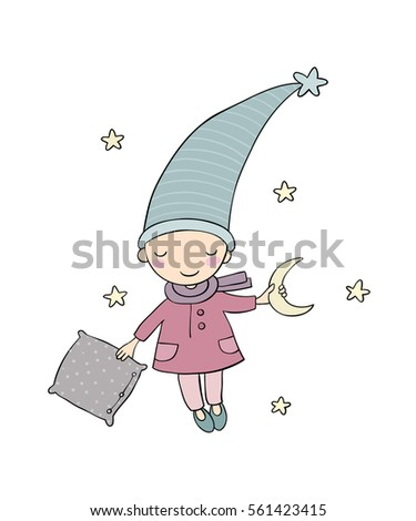 cute sleepy gnome night elf