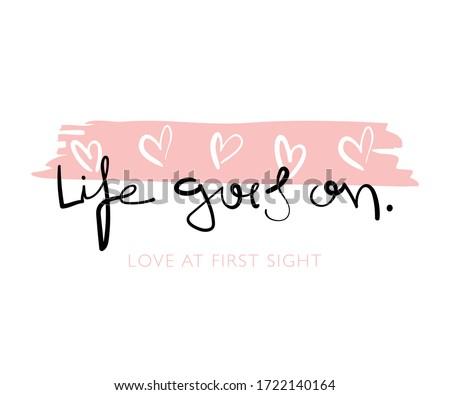 cute slogan   vector
