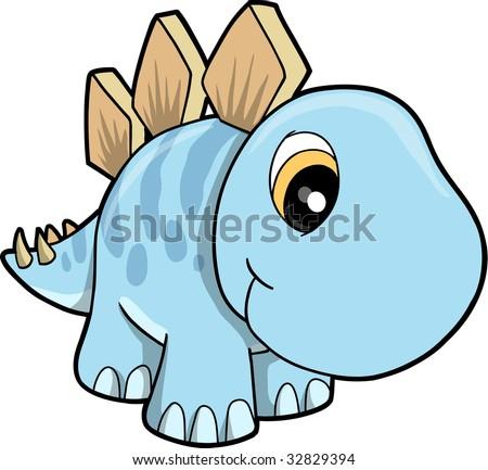 Cute Stegosaurus Gif Cute Stegosaurus Vector