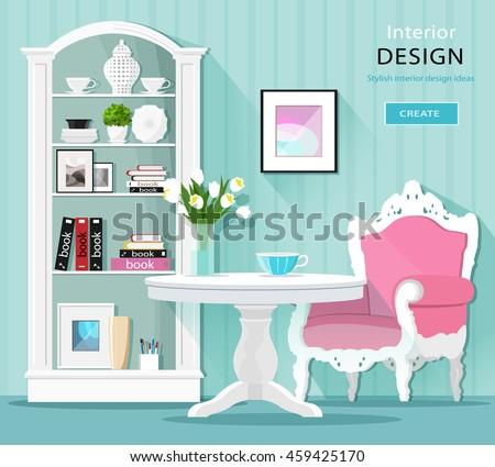 cute stylish graphic room decor