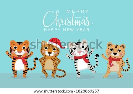 cute tiger  jaguar and cheetah