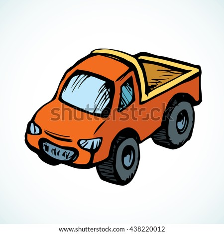 cute toy transfer sedan smooth