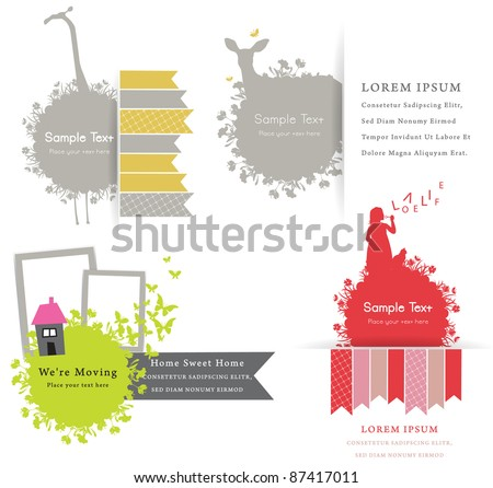 Cute Vector decorative design