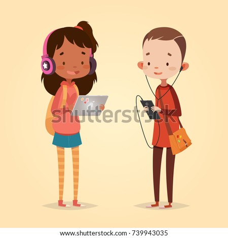 cute vector illustration for