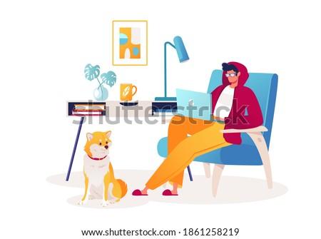 cute vector illustration on
