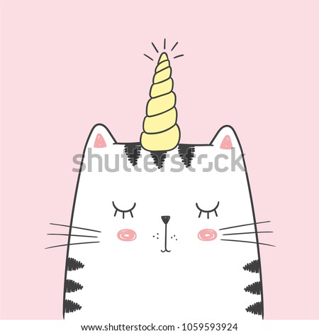cute vector illustration with