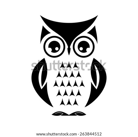 cute vector owl