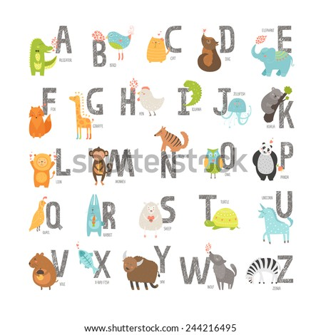Look letters Asian english