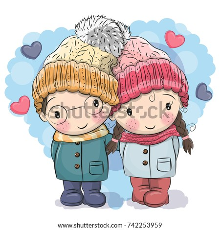 cute winter illustration cute
