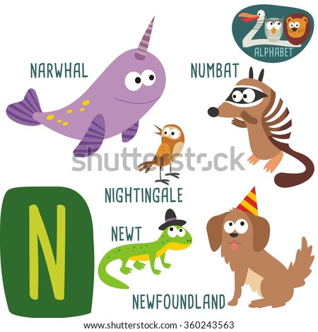 Zoo Animals Starting With The Letter M