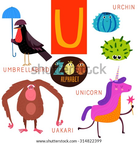 Bird Name Starting With Letter U